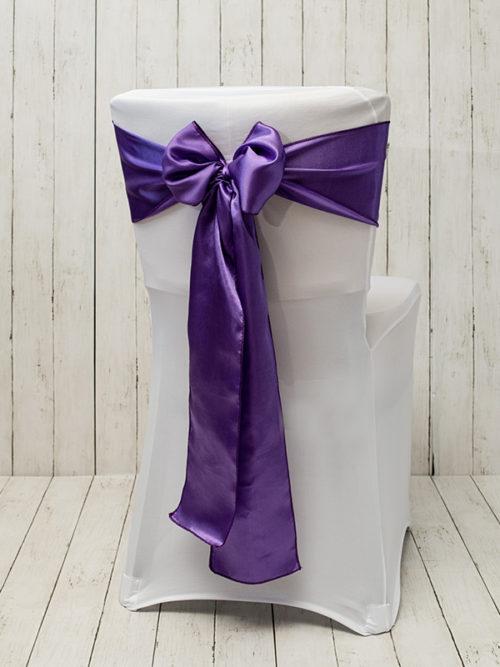 sesselschleife-violett-moebeldeko